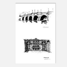 Europe Sketches Postcards (Package of 8)