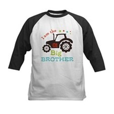 Big Brother Farmer Tractor Baseball Jersey