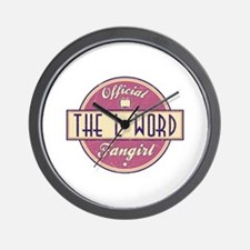Official The L Word Fangirl Wall Clock