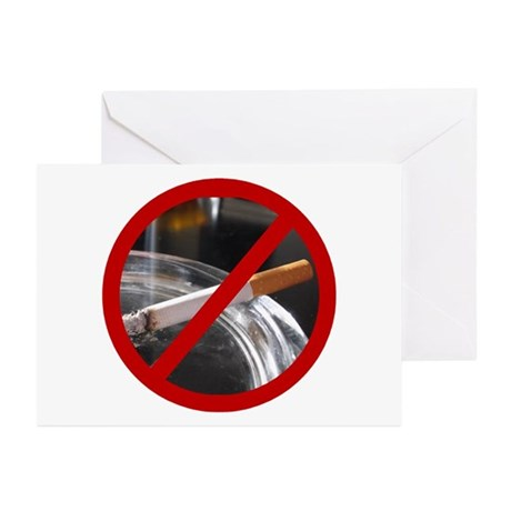 No Smoking Greeting Cards (Pk of 10)