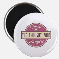 "Official The Twilight Zone Fangirl 2.25"" Magnet (1"