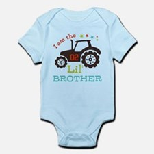 Little Brother Tractor Infant Bodysuit