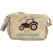 Little Brother Tractor Messenger Bag