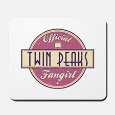 Official Twin Peaks Fangirl Mousepad