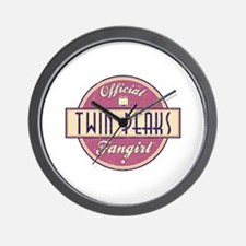 Official Twin Peaks Fangirl Wall Clock