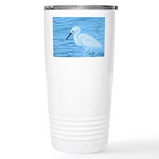 Great White Egret Thermos Mug