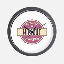 Official Wipeout Fangirl Wall Clock
