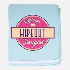Official Wipeout Fangirl Infant Blanket