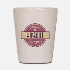Official Wipeout Fangirl Shot Glass