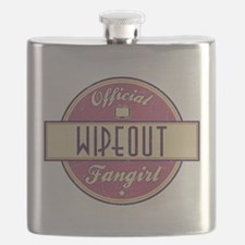 Official Wipeout Fangirl Flask