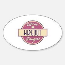 Official Wipeout Fangirl Oval Decal