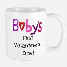 Baby's First Valentine's Day Mug