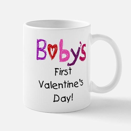 Baby's First Valentine's Day Mug