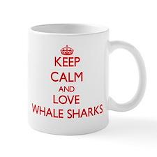 Keep calm and love Whale Sharks Mugs