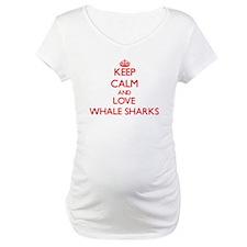 Keep calm and love Whale Sharks Shirt
