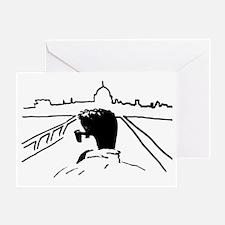 Sketch in Europe Greeting Card