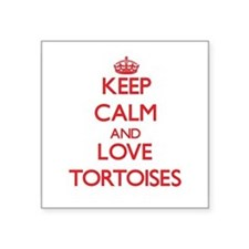Keep calm and love Tortoises Sticker