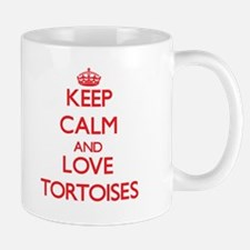 Keep calm and love Tortoises Mugs