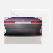 Concept Sports Car Greeting Card