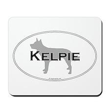 Kelpie Oval Mousepad