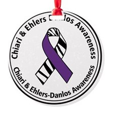 Chiari EDS Awareness Ribbon Ornament