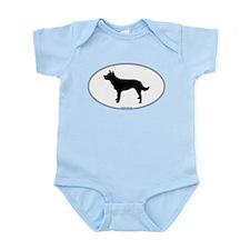 Kelpie Silhouette Infant Bodysuit