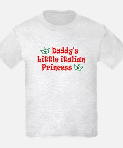 Daddy's Little Italian Prince T-Shirt