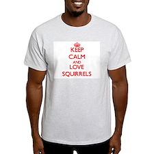 Keep calm and love Squirrels T-Shirt
