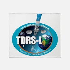 TDRS L Logo Throw Blanket