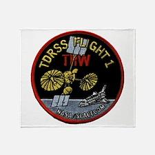 TDRS 1 Logo Throw Blanket