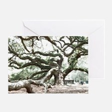 Angel Oak  Treee with photoshop  Greeting Card
