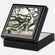 Angel Oak  Treee with photoshop  Keepsake Box