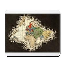 World Map 1498 Mousepad