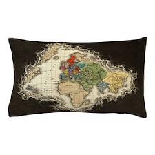 World Map 1498 Pillow Case