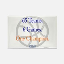 One Champion BBall 07-a Rectangle Magnet