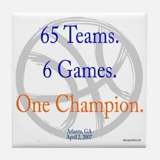 One Champion BBall 07-a Tile Coaster