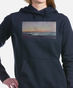 SUNSET WALK ON THE BEACH Hooded Sweatshirt