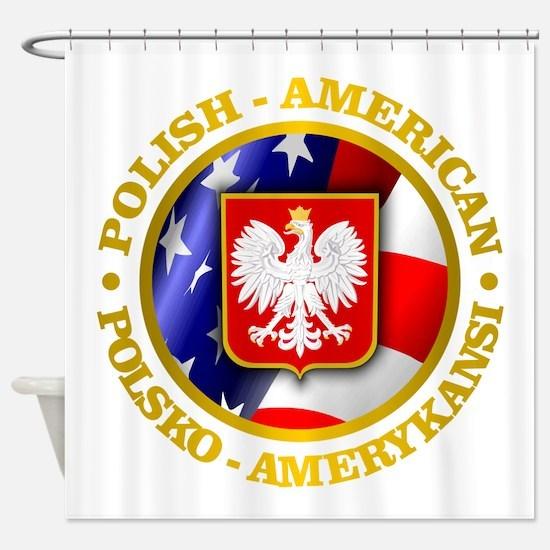 Polish American Shower Curtain