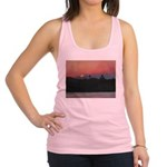SUNRISE ON DAVIS SHORES Racerback Tank Top