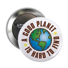 "Good Planet - 2.25"" Button (10 pack)"