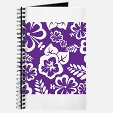 Purple tropical flowers Journal