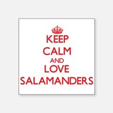 Keep calm and love Salamanders Sticker