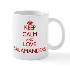 Keep calm and love Salamanders Mugs