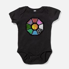 Painted Ba-Gua Baby Bodysuit