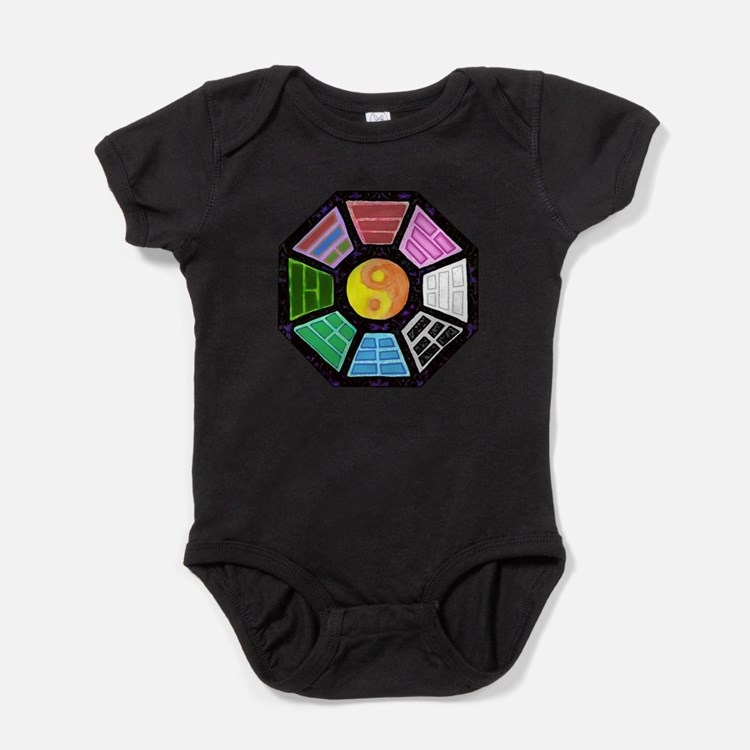 Painted Ba-Gua Baby Bodysuit