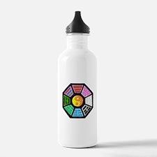 Painted Ba-Gua Water Bottle