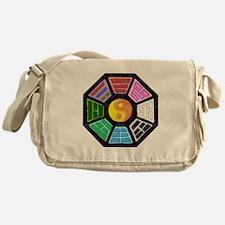 Painted Ba-Gua Messenger Bag