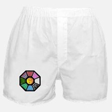 Painted Ba-Gua Boxer Shorts