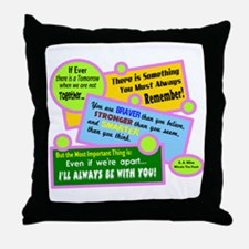 always Be With You-A. A. Milne Throw Pillow