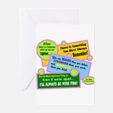 always Be With You-A. A. Milne Greeting Cards